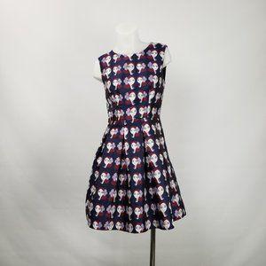 Lili Sidonio Molly Bracken Flare Dress Size S